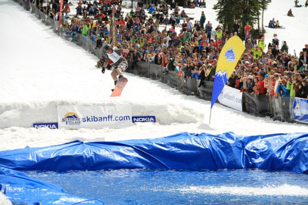 Sunshine Village slush cup