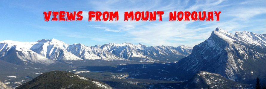 views from mount norquay