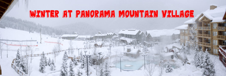 winter at panorama mountain village