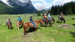 Become a Cowboy or Cowgirl Amidst the Beautiful Backdrop of the Canadian Rockies