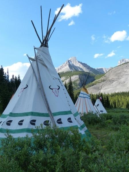 Sleep in the Canadian Rockies