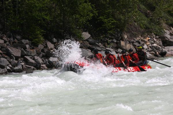 Kicking Horse River White Water Rafting