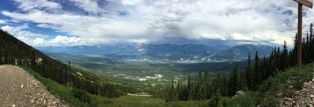 Kicking Horse Resort Panorama