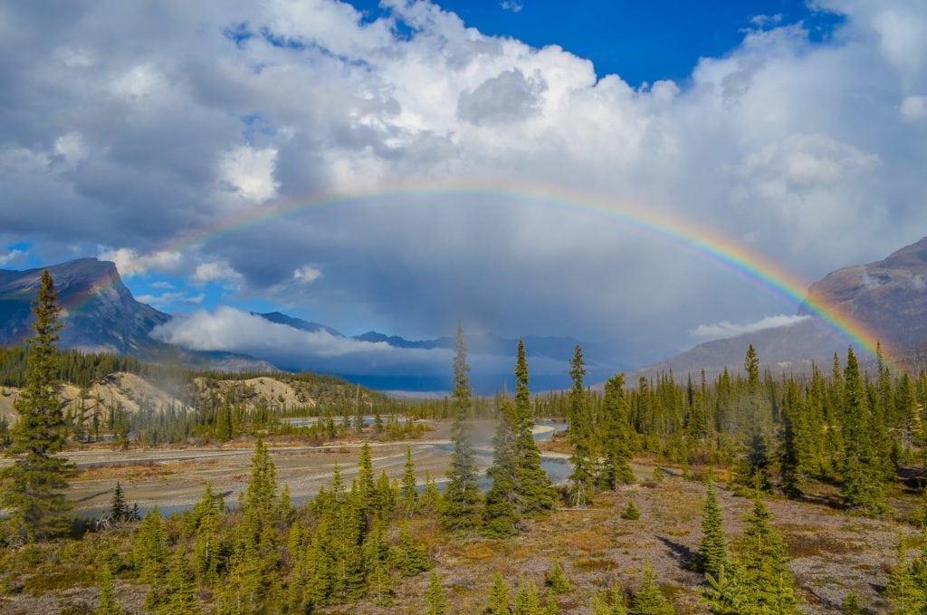 Rainbow Banff National Park