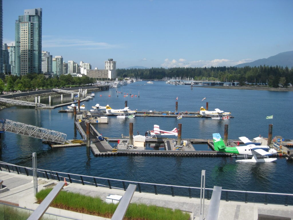 Vancouver water front