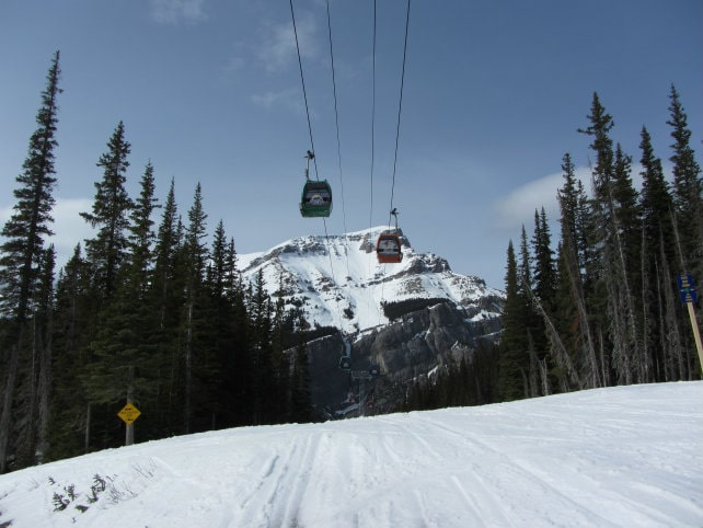 Gondola sunshine village banff