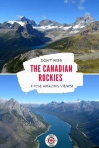 Helicopter Ride in the Canadian Rockies