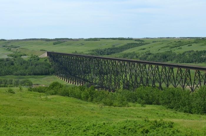 Wainwright Trestle Bridge