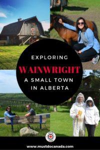 things to do in wainwright alberta
