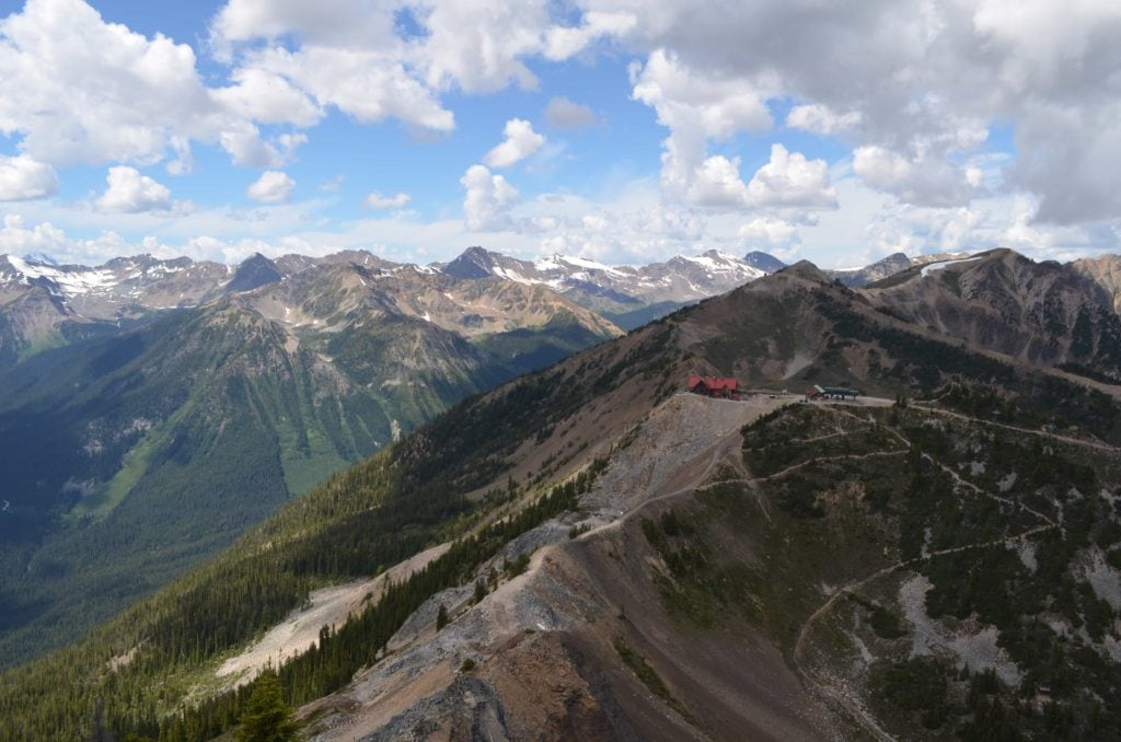 terminator peak kicking horse resort