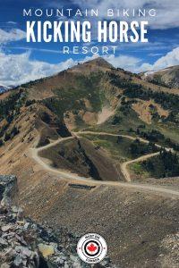 Mountain Biking at Kicking Horse Resort