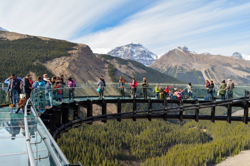 Glacier Skywalk - things to do in jasper