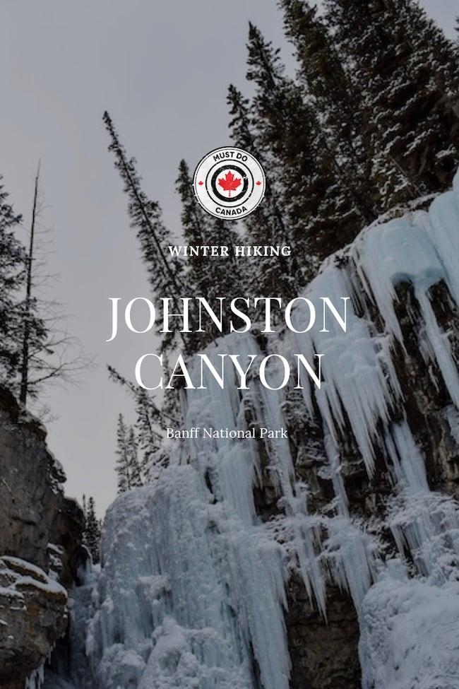 johnston canyon alberta canada