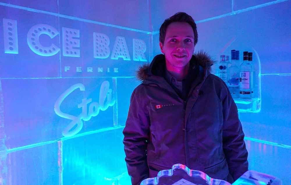 Fernie Ice Bar