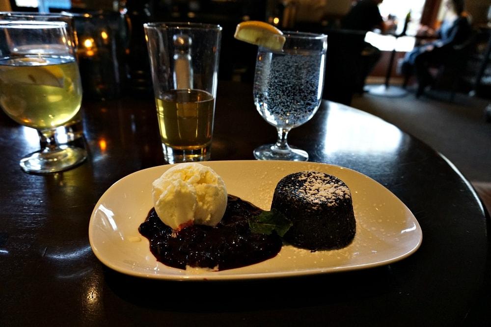 Molton Lava Cake Saltlik Calgary