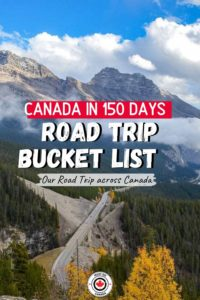 Canada's Road to 150 Canada road trip