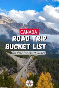 Canada Roadtrip Itinerary