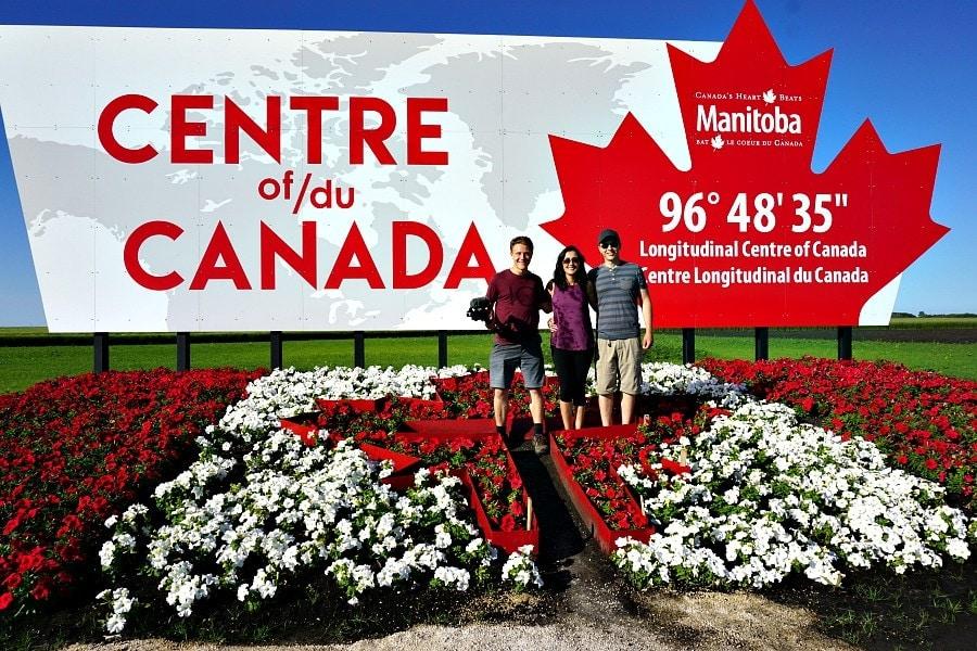 Center of Canada Landmark