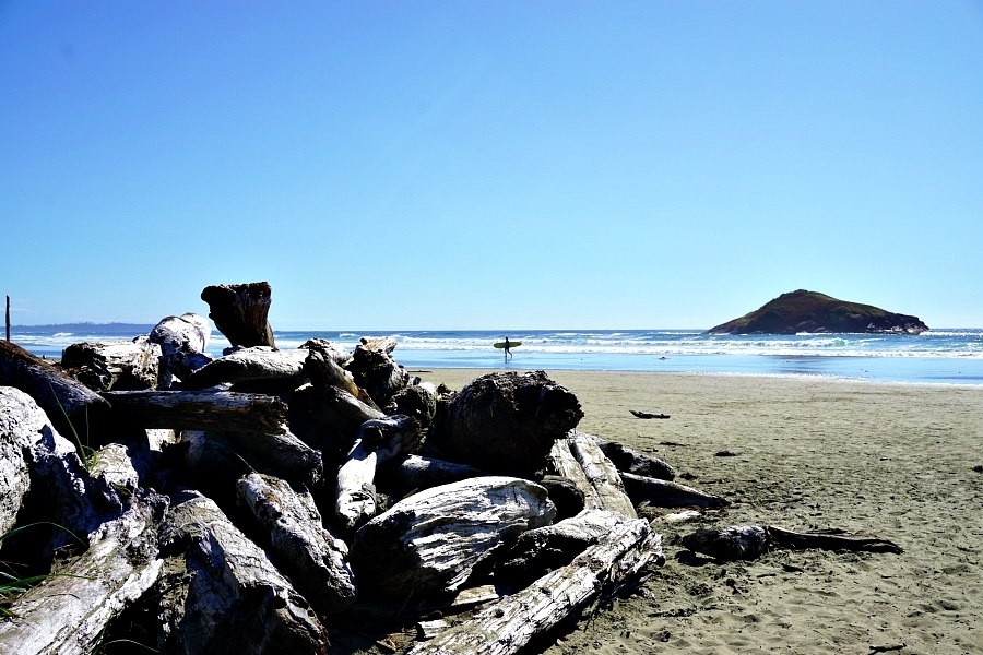 Tofino surfing, British Columbia