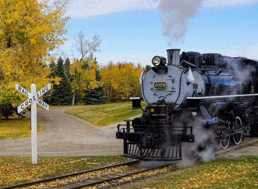 Heritage Park Steam Train, Calgary, Alberta