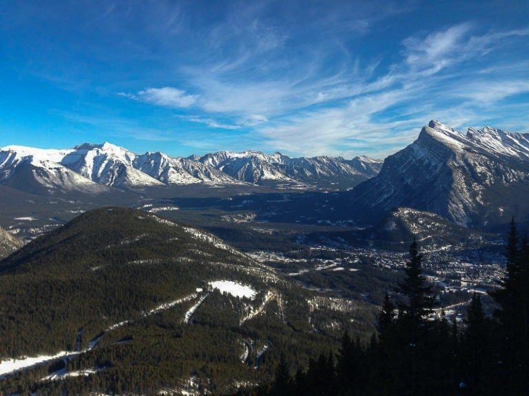 best things to do in banff in winter