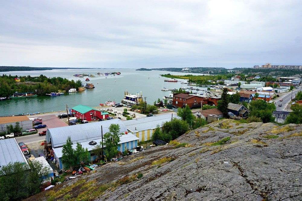 Views of Yellowknife
