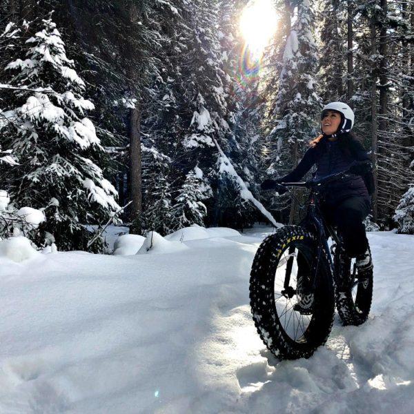Fat-Tire Biking in a Winter Wonderland