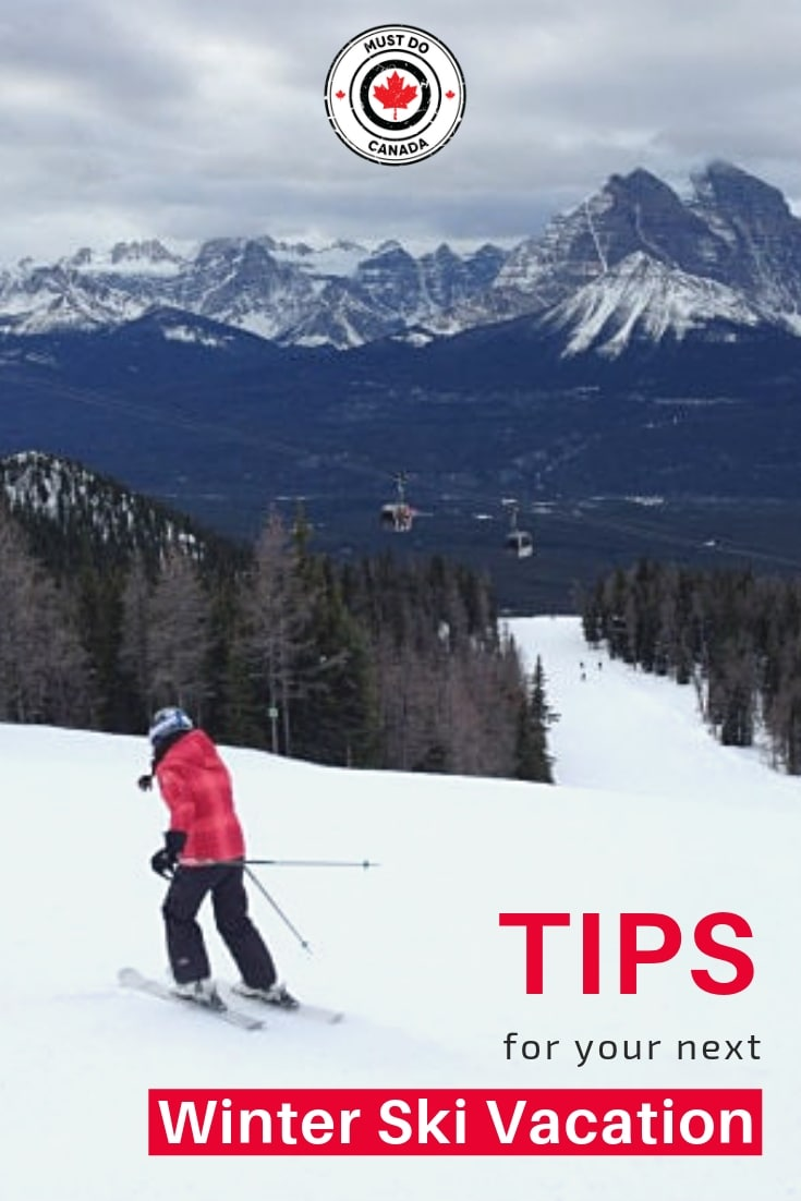 tips for skiing in canada winter