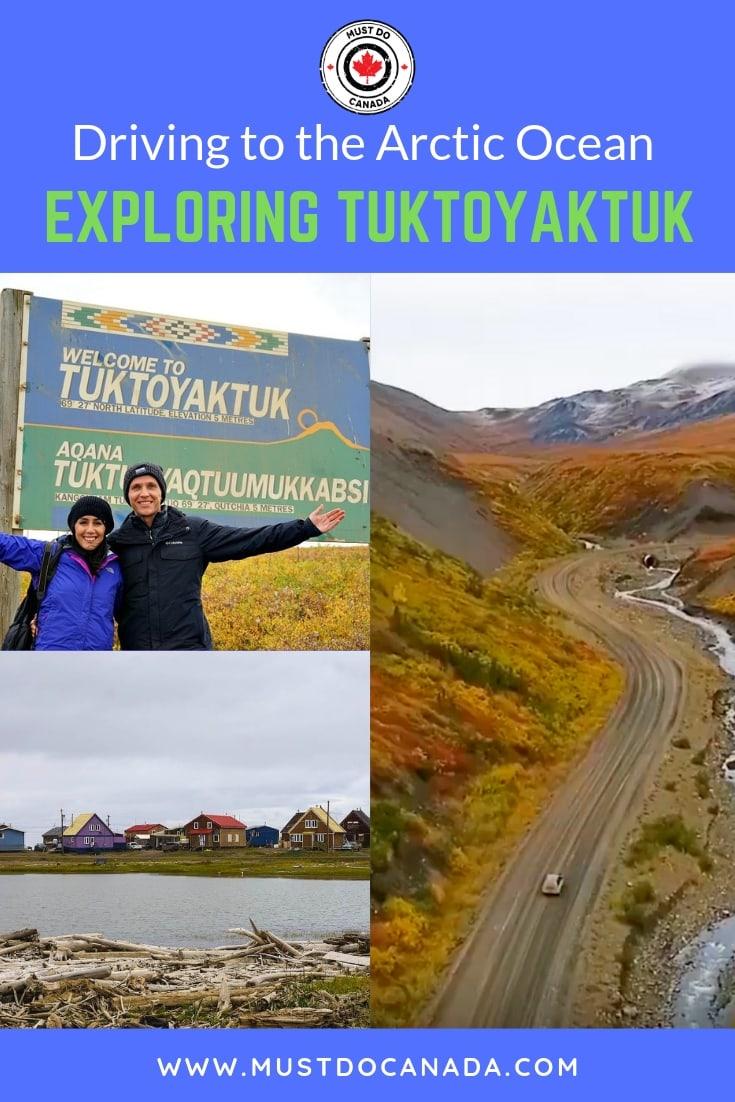 driving to tuktoyaktuk canada