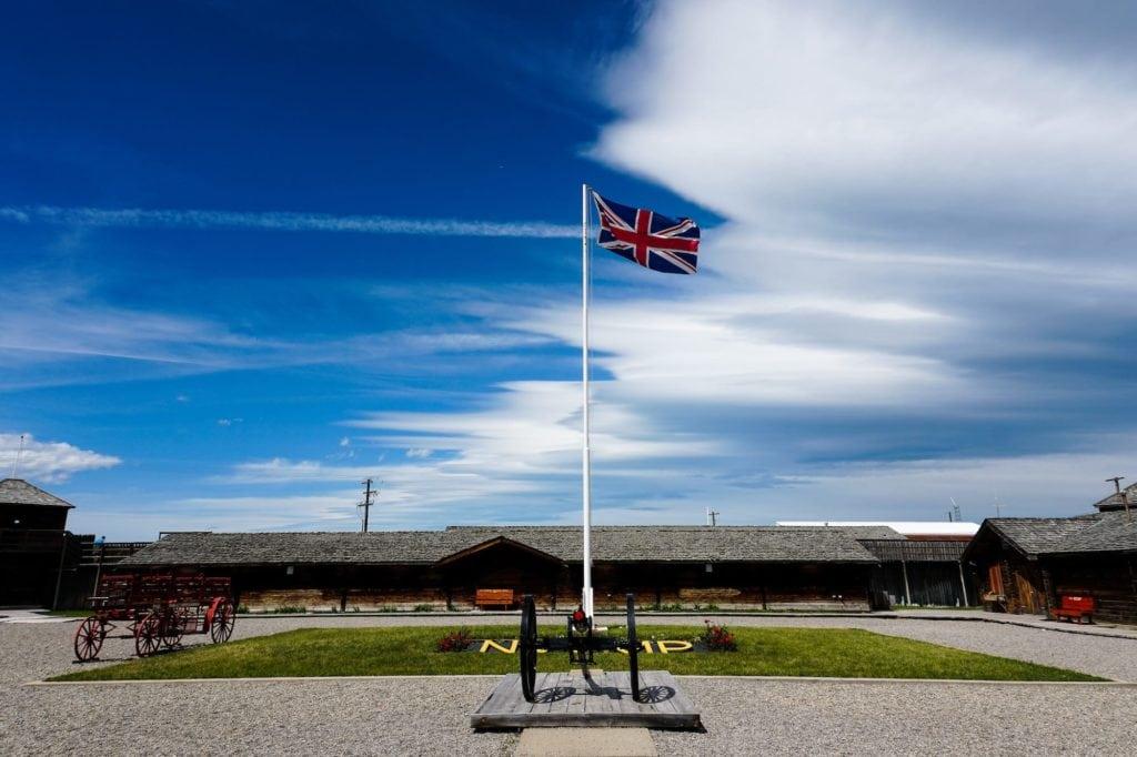 Fort Macleod Alberta Canada