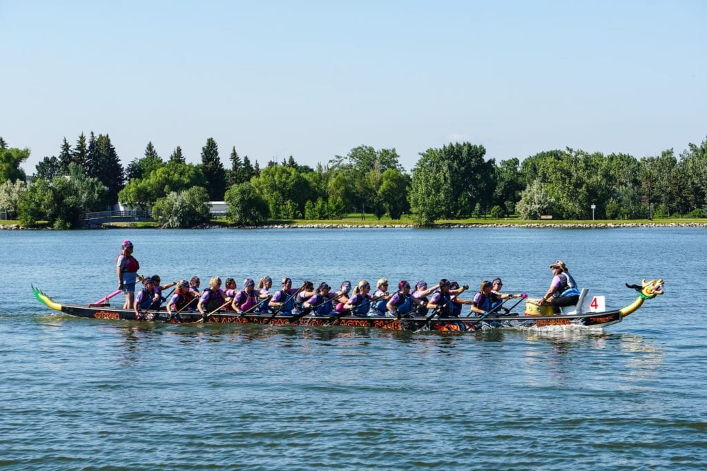 Lethbridge events - the Dragon Boat festival