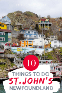 things to do in st. john's newfoundland