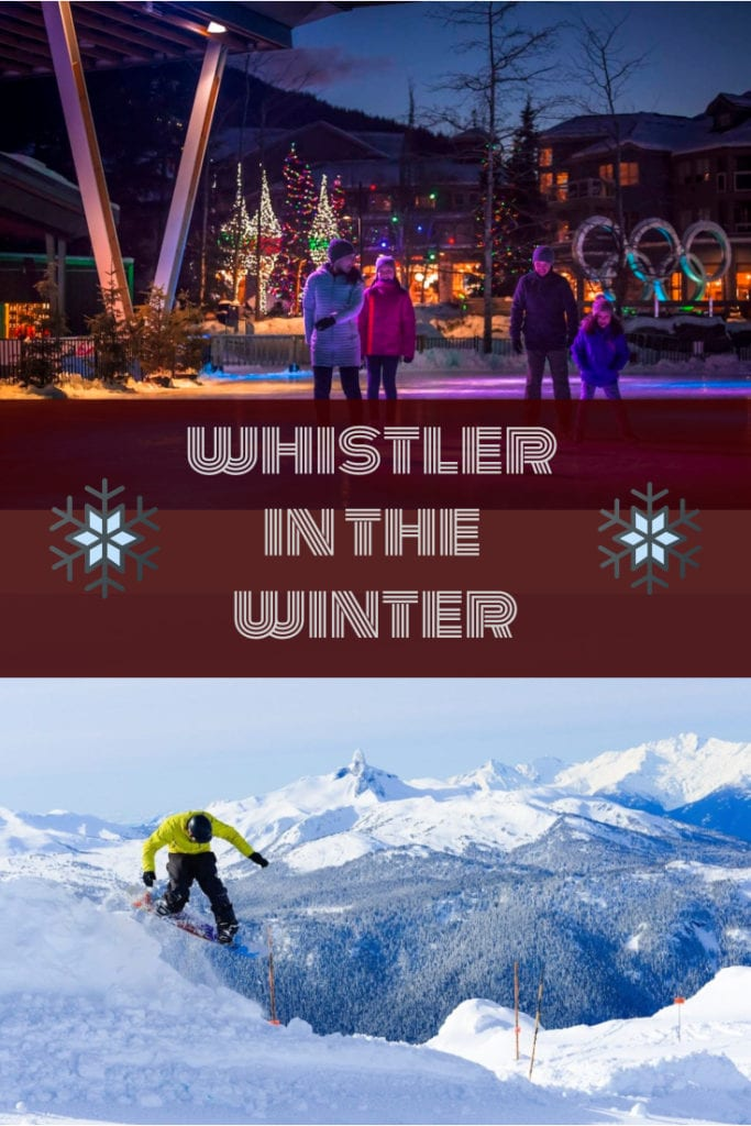 whistler in the winter