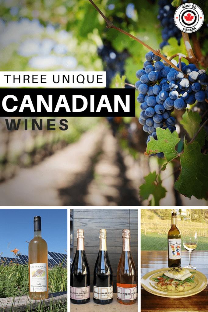 unique canadian wine