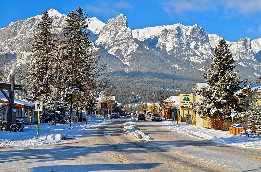 winter destinations canada