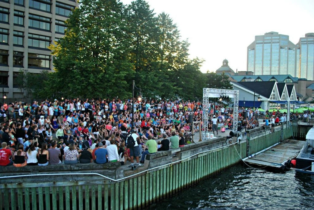 what to do in halifax - busker festival