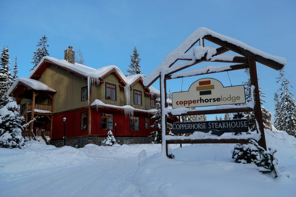 golden bc accommodation kicking horse resort