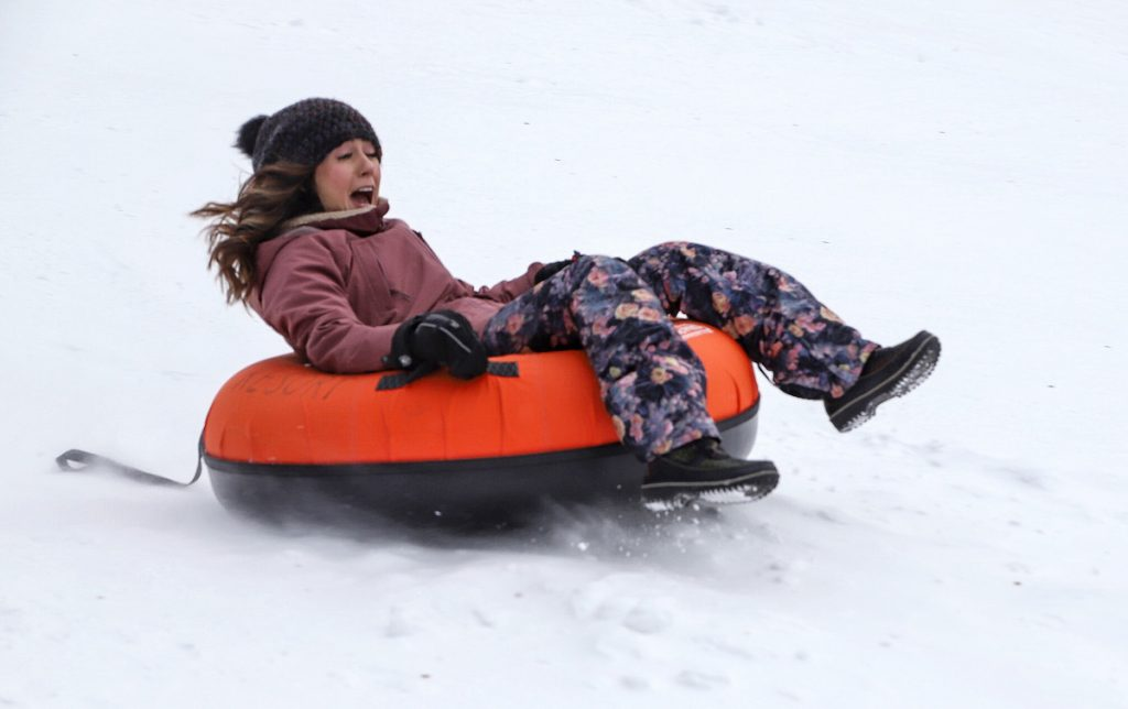 tubing in saskatchewan winter