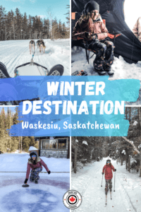 Waskesiu in the Winter