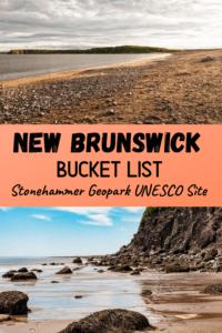Stonehammer Geopark UNESCO Site, New Brunswick