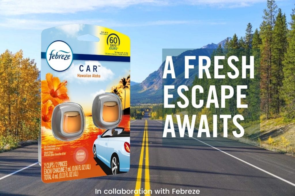 Canada Road Trips with Febreze