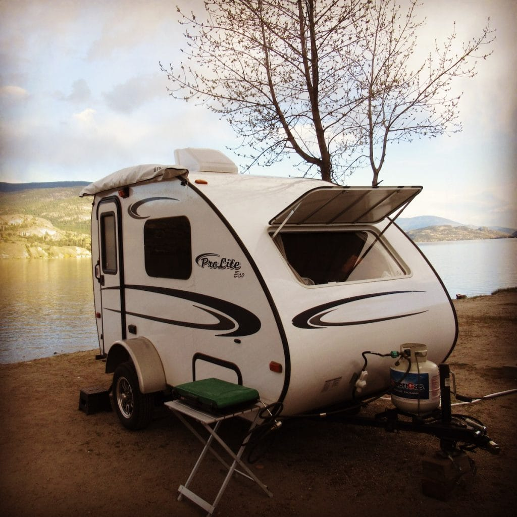 Camping in penticton