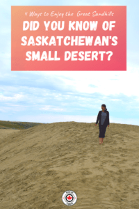 The Great Sandhills of Saskatchewan