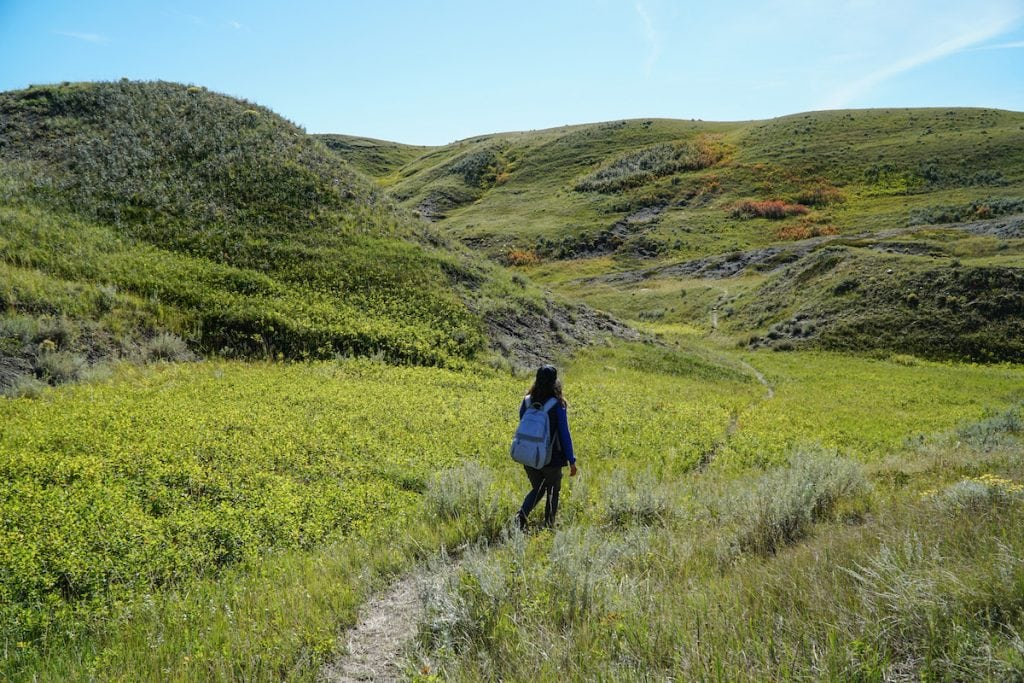 Grasslands National Park hiking trails