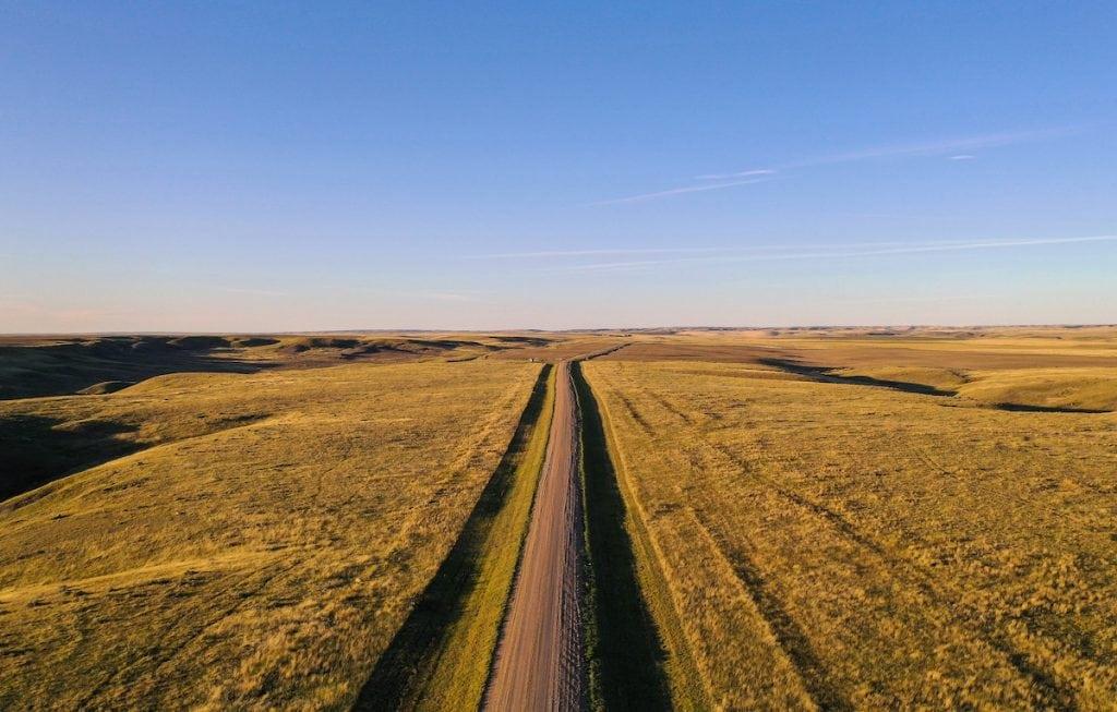 Grasslands National Park ecotour scenic drive