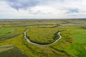 Grasslands National Park by Drone
