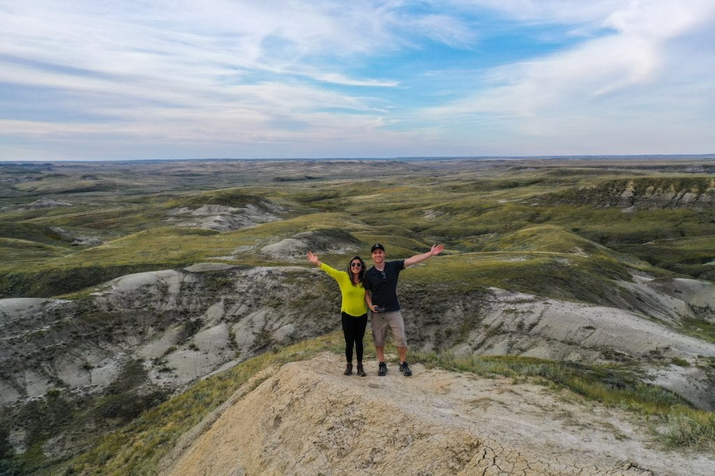 badlands camping in Grasslands National Park