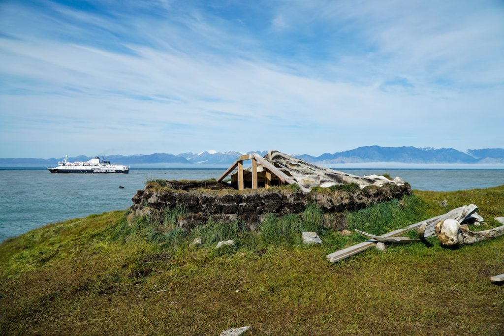Pond Inlet Inuit Sod House