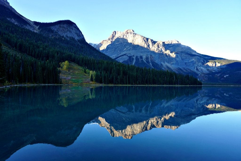Calgary to Vancouver Emerald Lake Yoho