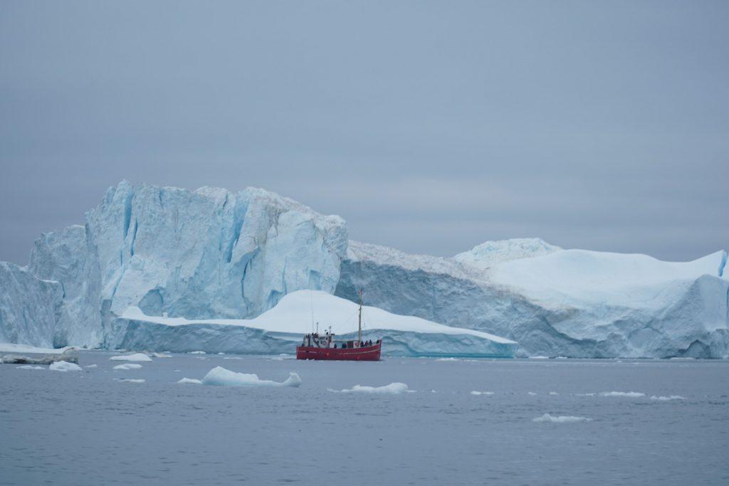 ilulissat Greenland icebergs